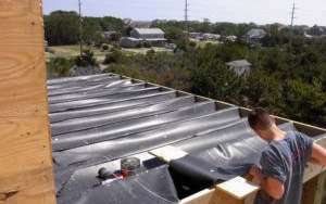 Under Deck Roofing From DEK Drain® Can Transform The Area Below Your Deck's Surface Into Usable Space