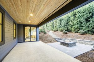 An Under Deck Roof From DEK Drain® Can Keep The Rain Away & Add Usable Storage Or Living Space To Your Home