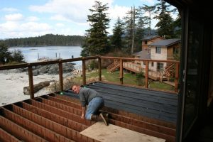 UNDER DECK SYSTEMS FROM DEK DRAIN® THAT WORK FOR EXISTING DECKS OR DECKS UNDER CONSTRUCTION