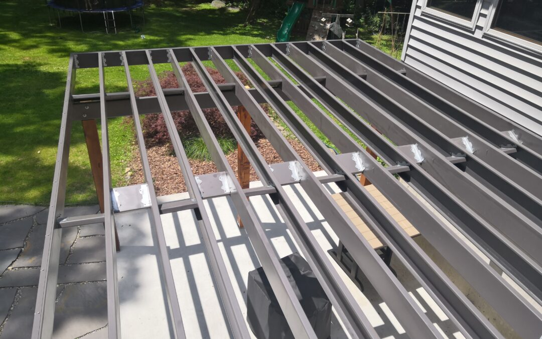 6 Unique Benefits of a Steel Frame Deck Install